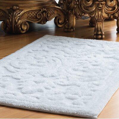 Ormside Barroco Bath Mat Size: 48 L x 28 W