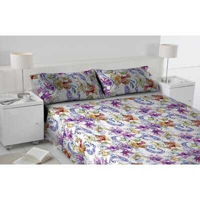 Arizona 3 Piece Duvet Cover Set Size: King
