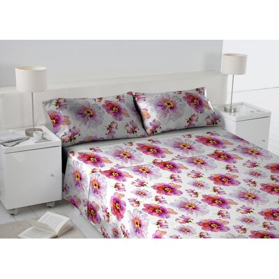 California 3 Piece Duvet Cover Set Size: King
