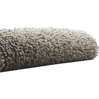 Hizer Linen Twist Bath Rug Size: 20 W x 31 L