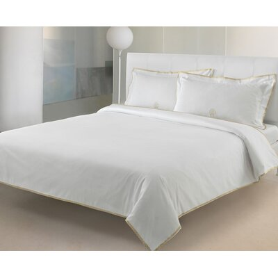 Roberto Cavalli Gold Sheet Set Size: King, Color: White