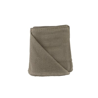 Makenzie Cotton Blanket Size: Queen, Color: Taupe