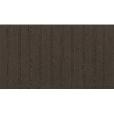 Graccioza Bath Rug Color: Chocolate