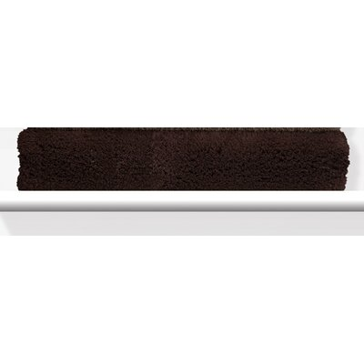 Munson Shaggy Bath Mat Color: Dark Chocolate