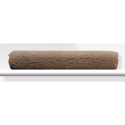 Graccioza Shaggy Bath Mat Color: Savannah