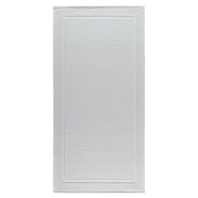 Graccioza Bee Waffle Bath Rug Color: White