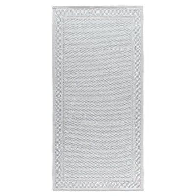 Graccioza Bee Waffle Bath Rug Color: White, Size: 24 W x 40 L