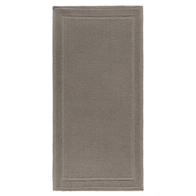 Graccioza Bee Waffle Bath Rug Color: Stone, Size: 24 W x 40 L