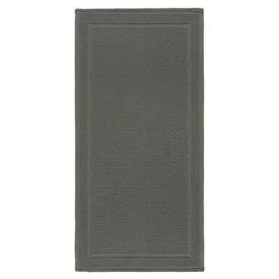 Graccioza Bee Waffle Bath Rug Color: Dark Anthracite