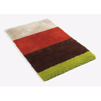 Krieg Bath Rug Color: Brown