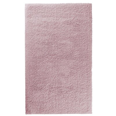 Graccioza Comfort Spa Sponge Bath Rug Size: 24 W x 40 L, Color: Blush