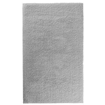 Graccioza Comfort Spa Sponge Bath Rug Size: 24 W x 40 L, Color: Silver