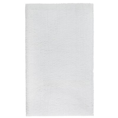 Graccioza Comfort Spa Sponge Bath Rug Color: White, Size: 28 W x 48 L