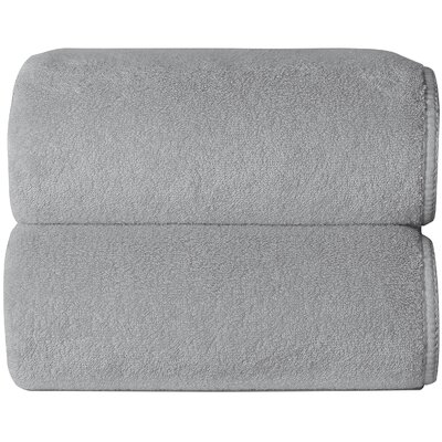 Hizer Sponge 6 Piece Towel Set Color: Silver