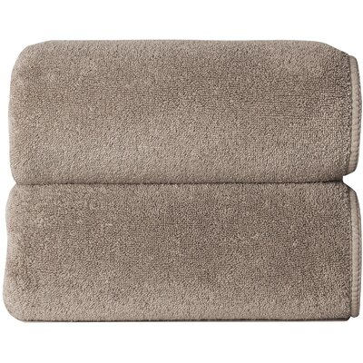 Hizer Sponge 6 Piece Towel Set Color: Stone