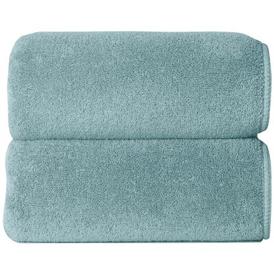 Graccioza Comfort Spa Sponge 6 Piece Towel Set Color: Baltic