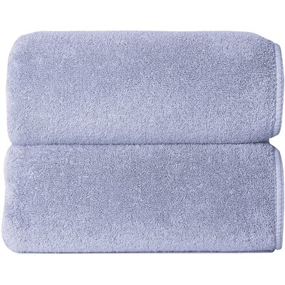 Hizer Sponge 6 Piece Towel Set Color: Baby Blue