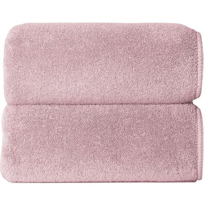 Graccioza Comfort Spa Sponge 6 Piece Towel Set Color: Blush