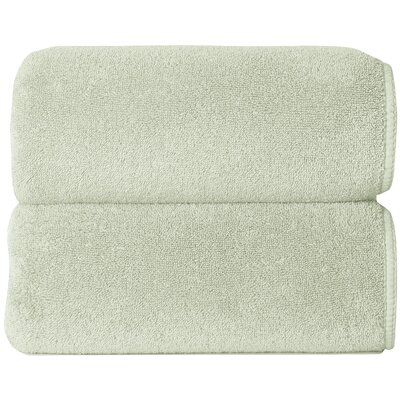 Graccioza Comfort Spa Sponge 6 Piece Towel Set Color: Celery