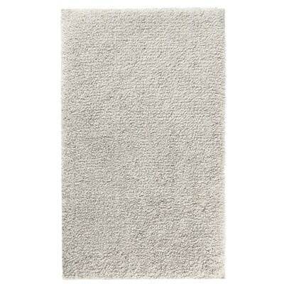 Fortney Rayon from Bamboo Cloud Bath Rug Color: Natural, Size: 24 W x 40 L
