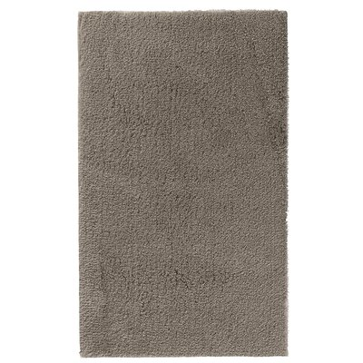 Fortney Rayon from Bamboo Cloud Bath Rug Color: Stone, Size: 20 W x 30 L