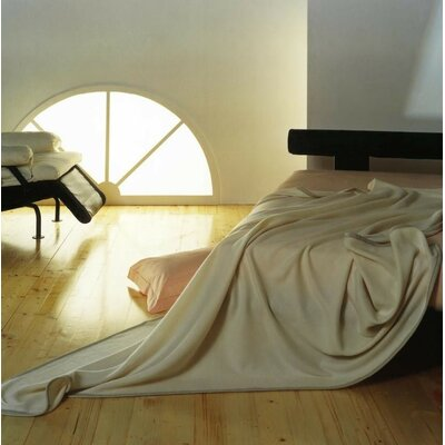 Marzotto Geisha Cashmere Blanket Color: Ivory