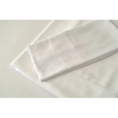 300 Thread Count Rayon from Bamboo Sheet Set Size: Queen, Color: White