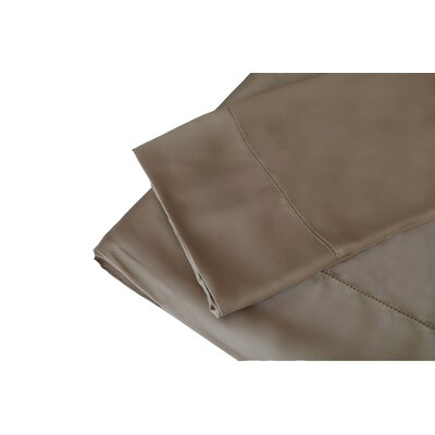 300 Thread Count Rayon from Bamboo Sheet Set Size: Queen, Color: Taupe