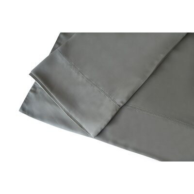 300 Thread Count Rayon from Bamboo Sheet Set Size: King, Color: Gray