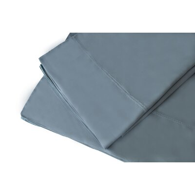 300 Thread Count Rayon from Bamboo Sheet Set Size: King, Color: Wedgewood Blue