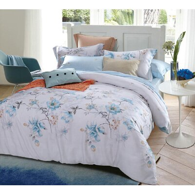 Arbois 3 Piece Reversible Duvet Set Size: King