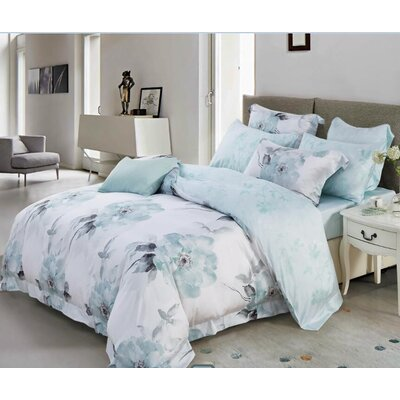 Efraim 3 Piece Reversible Duvet Set Size: Queen
