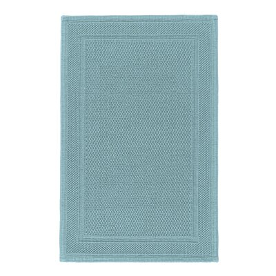Graccioza Bee Waffle Bath Rug Size: 20 W x 31 L, Color: Baltic