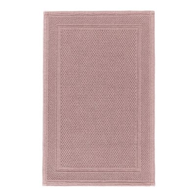Graccioza Bee Waffle Bath Rug Color: Blush