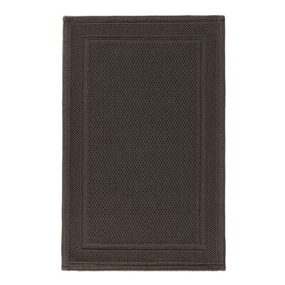 Graccioza Bee Waffle Bath Rug Color: Dark Chocolate