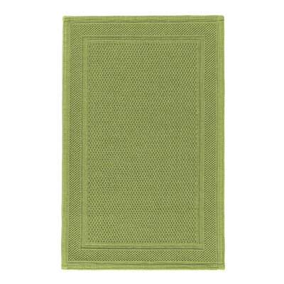Graccioza Bee Waffle Bath Rug Size: 24 W x 40 L, Color: Jungle