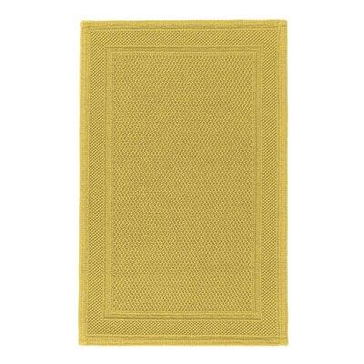 Graccioza Bee Waffle Bath Rug Color: Mustard