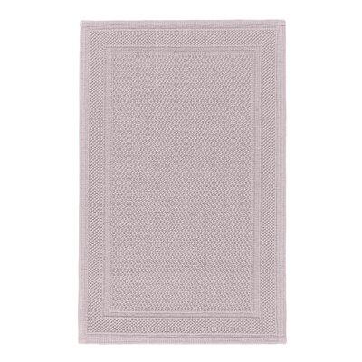 Graccioza Bee Waffle Bath Rug Color: Pearl