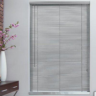 1 Gray Metal Blinds Width: 32, Length: 64