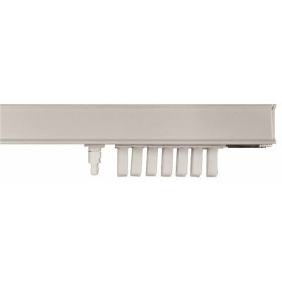 Vertical Blind Steel Headrail Size: 2 W x 110 L