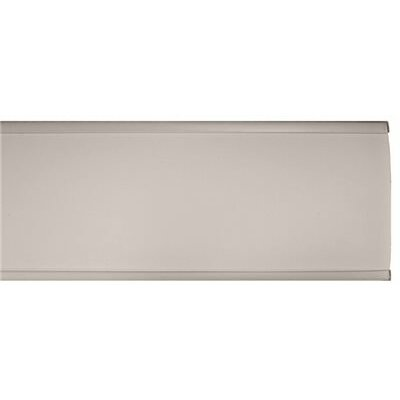 Vertical Blind Universal Aluminum Valance Color: White
