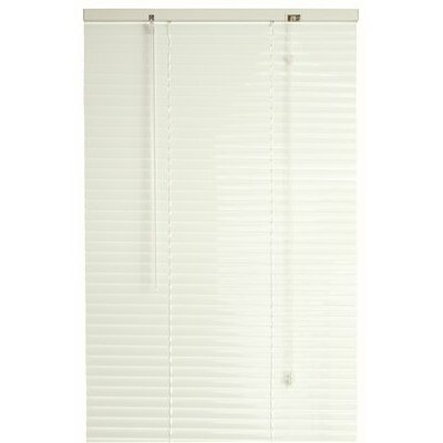 1 Aluminum Mini Blind Pleated Shade Size: 22 W x 77 L