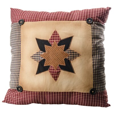 Emsley Quilted Starburst Throw Pillow