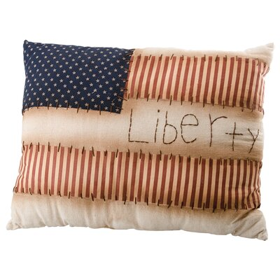 Enmore Liberty Flag Throw Pillow