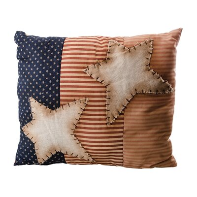 Emery Star Flag Throw Pillow