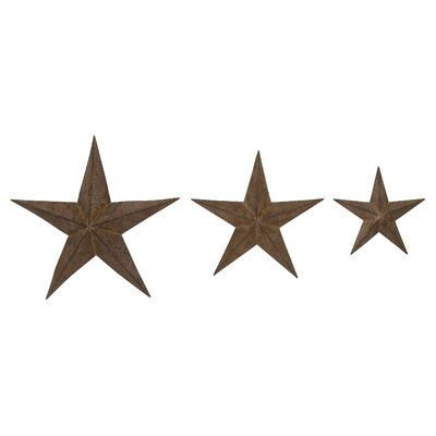 3 Piece Star Wall Décor Set