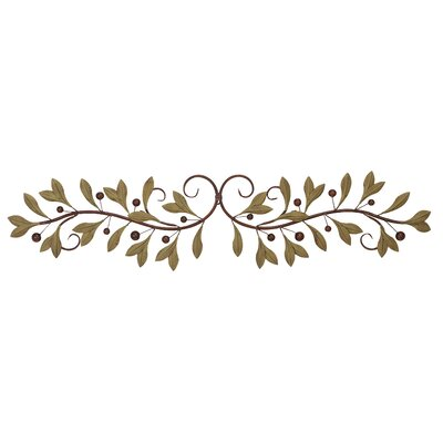 Budding Olive Branch Wall Décor
