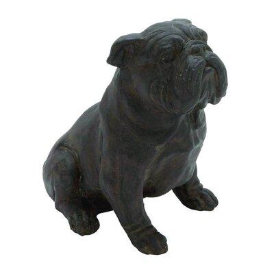 Polystone Bull Dog Figurine