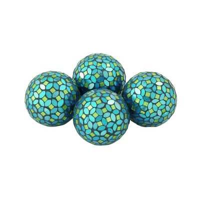 Decorative Glass Mosaic Orbs