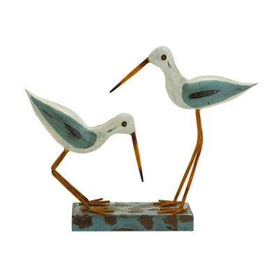 ABCHomeCollection Coastal Living Sea Cranes Figurine